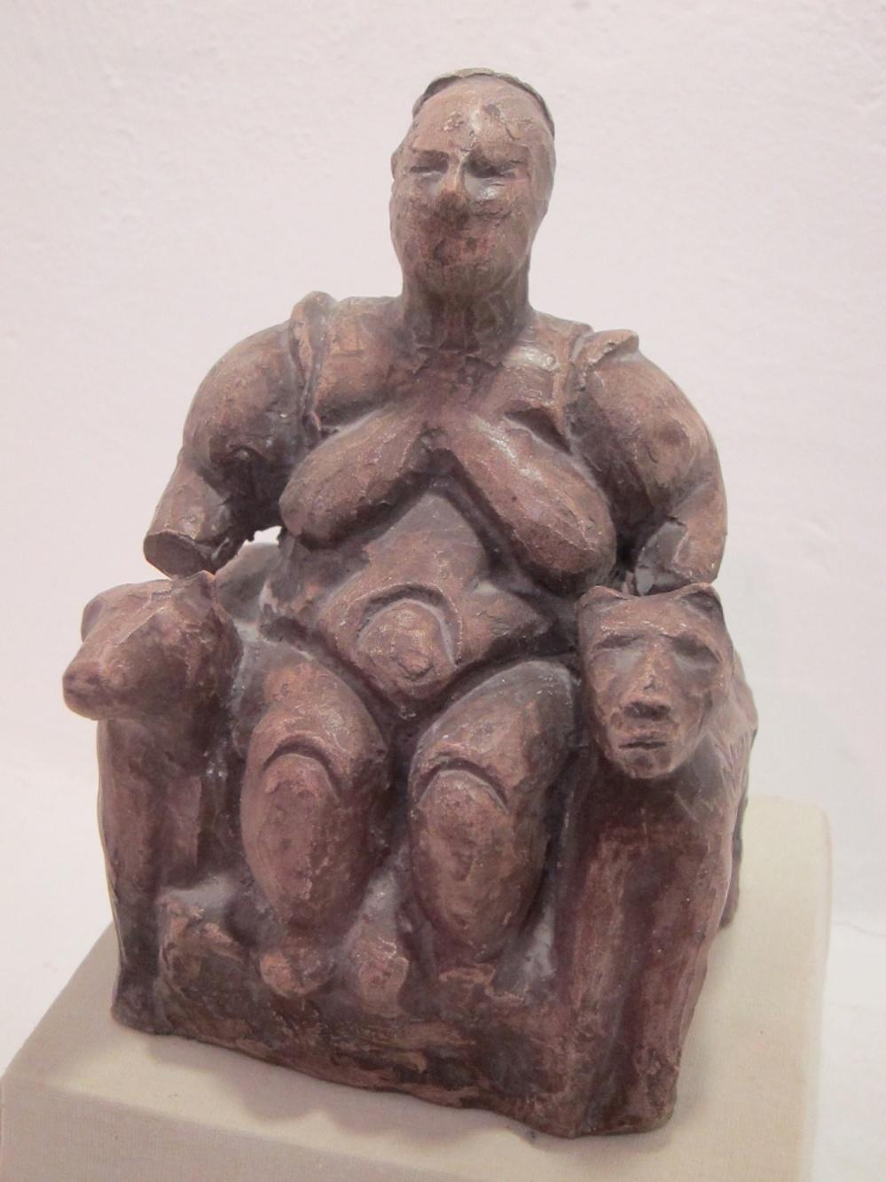 """Çatal Hüyük """"Mother Goddess"""" Figurine"""