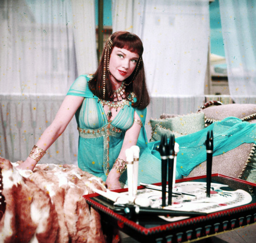 Ann Baxter,actress,movie still from The Ten Commandments